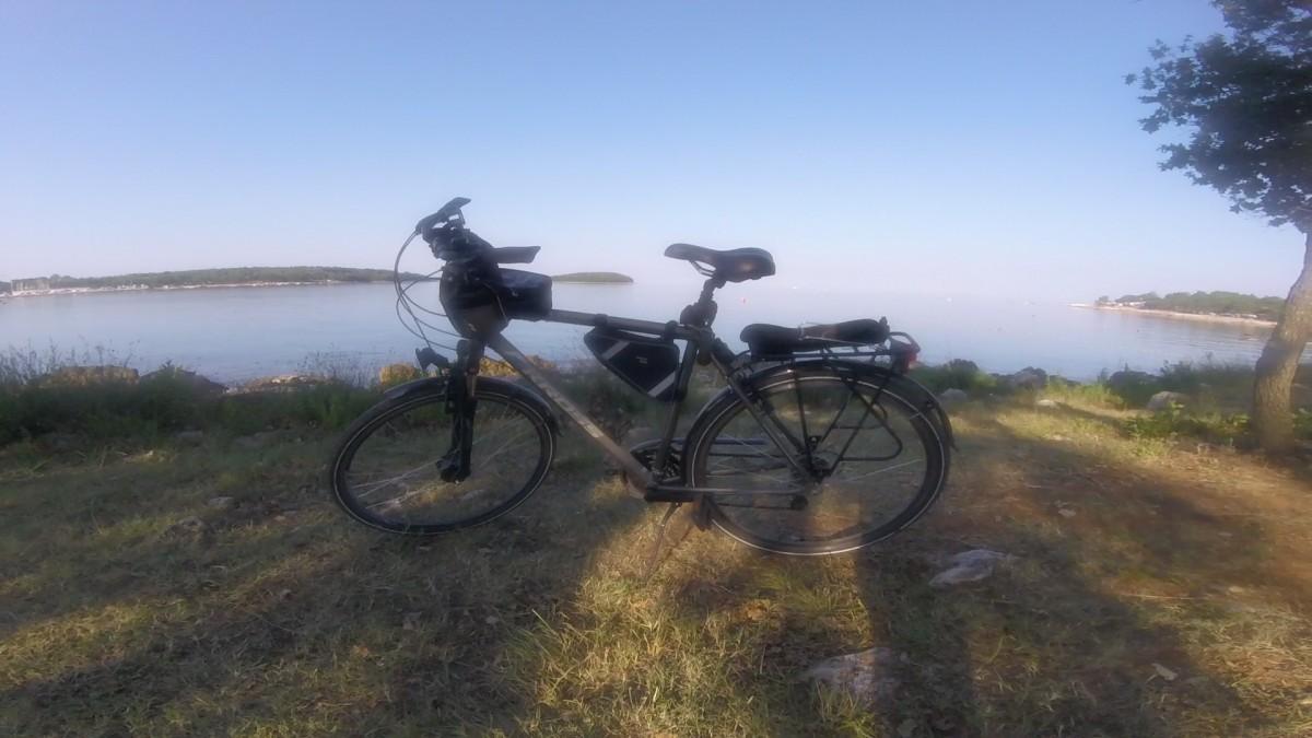 Zdjęcia: Funtana, Z rowerem na Płd. Europę, CHORWACJA