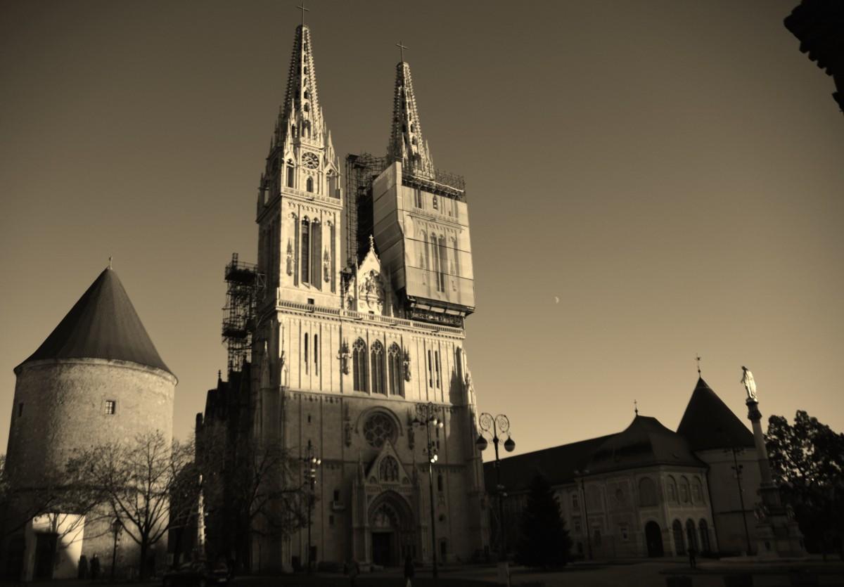 Zdjęcia: Zagrzeb, Stolica, Katedra, CHORWACJA