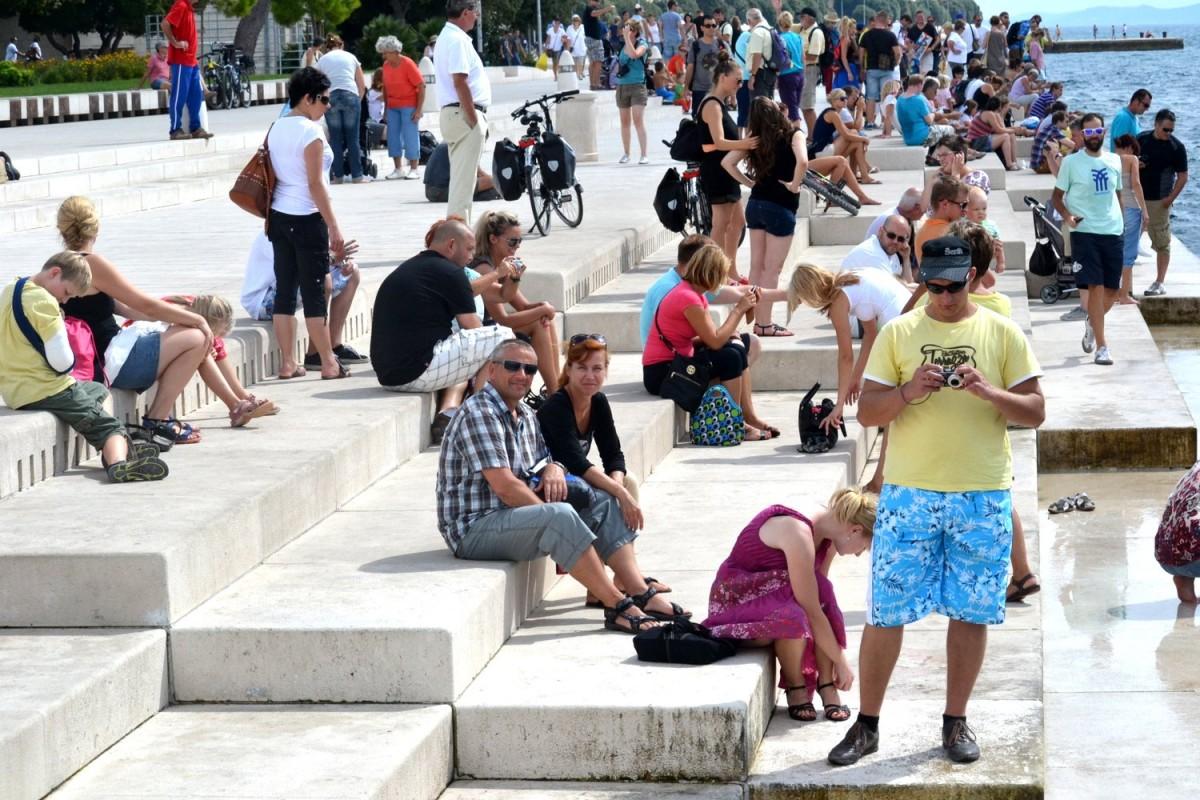 Zdjęcia: Zadar, Zadar, Morskie organy, CHORWACJA