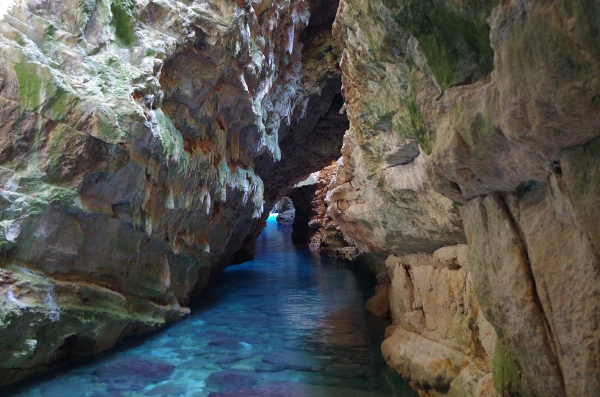 Zdjęcia: Golubinka Sea Cave, Dugi Otok, Covidowa bezludna Chorwacja, CHORWACJA