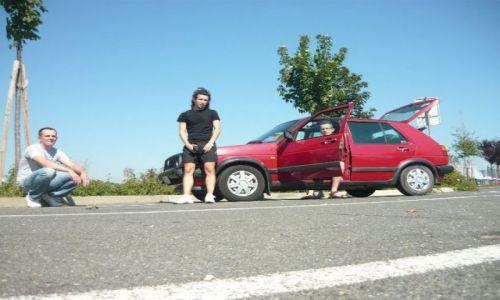 CHORWACJA / - / Gdzieś na trasie do Chorwacji / Stary Golf i może - 20-letnim Golfem dookoła Europy