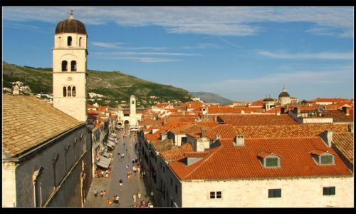 Zdjecie CHORWACJA / - / Dubrovnik / Stradun