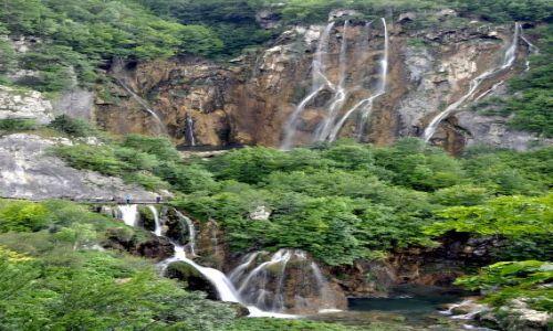 Zdjęcie CHORWACJA / Kvarner / Park Narodowy Plitvickie Jeziora / Wodospady w Plitvicach