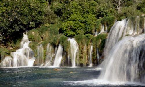 Zdjecie CHORWACJA / Dalmacja / Park Narodowy Krka / Skradinski Buk