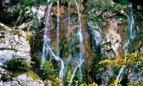CHORWACJA / okolice Zagrzebia / plitvice / wodospad