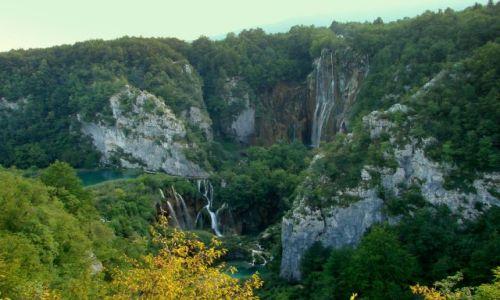 Zdjęcie CHORWACJA / okolice Zagrzebia / plitvice / wodospad