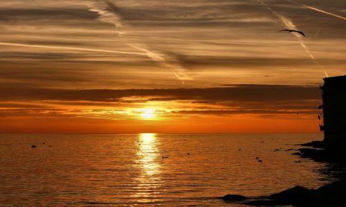 Zdjecie CHORWACJA / Istria / Rovinj / Na niebie malowane