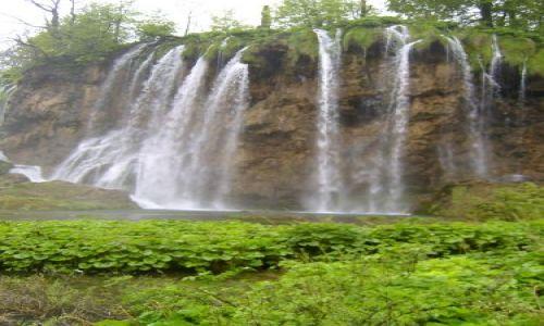 Zdjęcie CHORWACJA / Dalmacja / Plitwickie jeziora / Plitwickie wodospady