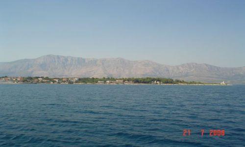 Zdjecie CHORWACJA / dalmacja / chorwacja / wyspa hwar  od