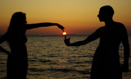 Zdjecie CHORWACJA / Zadar / Chorwacja / w stronę słońca...