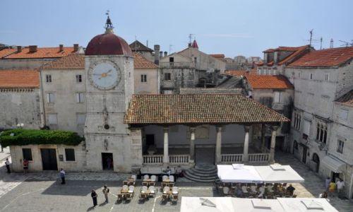 Zdjecie CHORWACJA / Dalmacja / Trogir / Widok z wieży Katedry