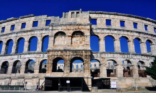 Zdjecie CHORWACJA / Istria / Pula / Rzymski amfitea