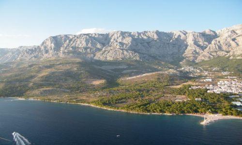 CHORWACJA / - / Makarska / Widok z 500 m n.p.m.