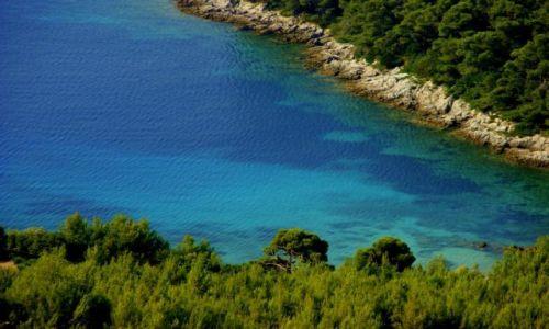 Zdjecie CHORWACJA / Chorwacja / Chorwacja / Kolor  wody