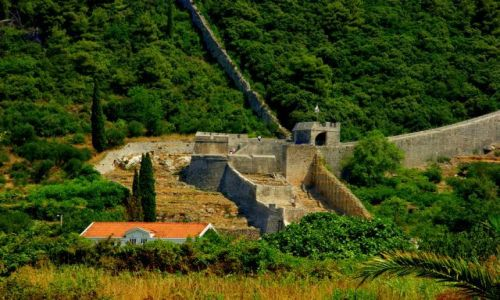 Zdjęcie CHORWACJA / Chorwacja / Chorwacja / Twierdza  Ston