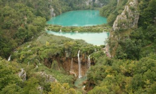 Zdjecie CHORWACJA / Dalmacja / Plitvice Lakes National Park / Plitvickie Lake