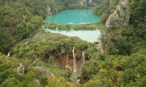 Zdjecie CHORWACJA / Dalmacja / Plitvice Lakes National Park / Plitvickie Lakes - raj na ziemi