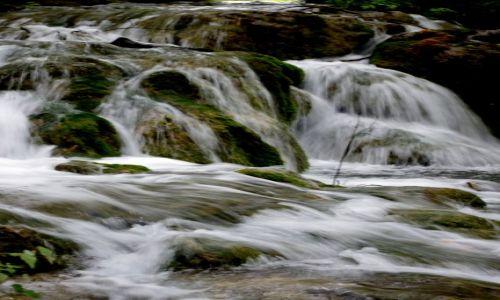 CHORWACJA / Park Narodowy Plitwice / Plitwice / Impresja wodna