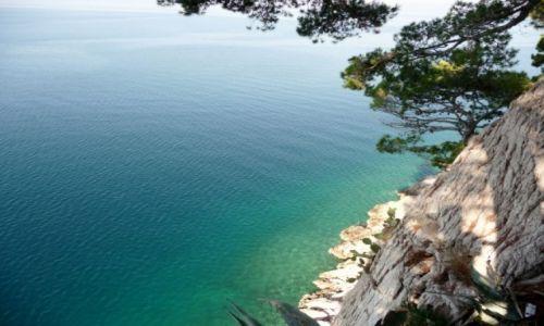 Zdjecie CHORWACJA / - / Riviera Makarska / Na krawędzi