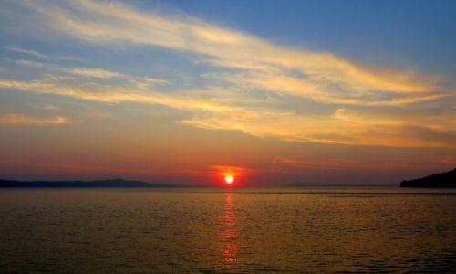 Zdjęcie CHORWACJA / Dalmacja / Riwiera Makarska / na dobranoc