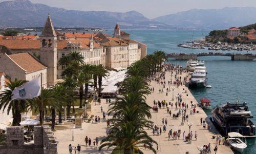 Zdjecie CHORWACJA / Dalmacja / Trogir / Panorama Trogiru