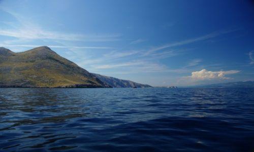 Zdjęcie CHORWACJA / W pobliżu Krk - Zatoka Kvarner / Chorwacja / Pływając po Adriatyku