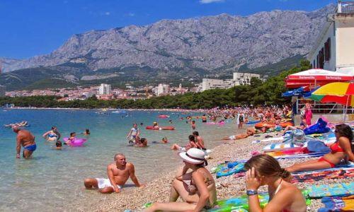 Zdjęcie CHORWACJA / brak / Makarska / Na plaży