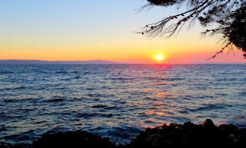 CHORWACJA / Dalmacja / Riviera Makarska / czekając na zmrok...