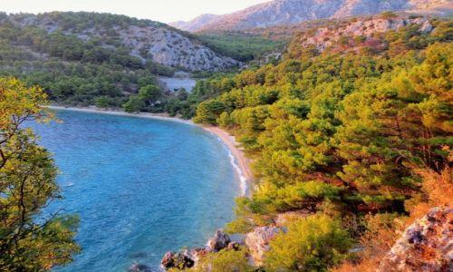 Zdjecie CHORWACJA / Riviera Makarska / między Blato a Porat / stąd oglądało się