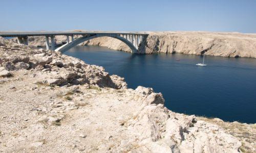 Zdjęcie CHORWACJA / dalmacja / Pag / most