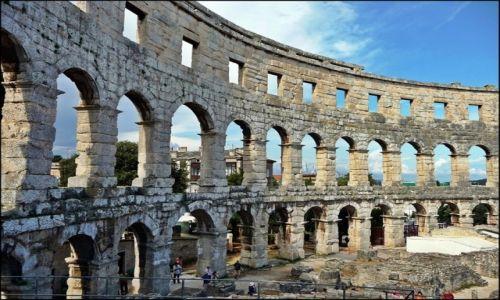Zdjecie CHORWACJA / Istria / Pula / Amfiteatr rzymski w Puli