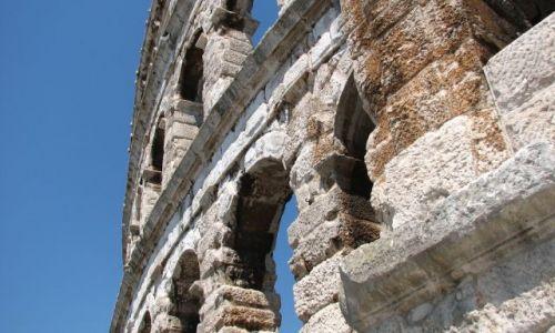 Zdjęcie CHORWACJA / brak / Pula / Pula- amfiteatr