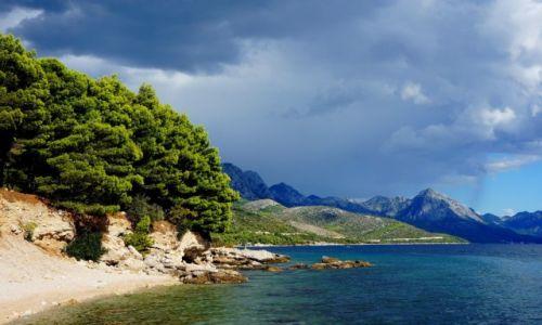 Zdjęcie CHORWACJA / Dalmacja / Riwiera Makarska / skrawek dalmatyńskiego wybrzeża...