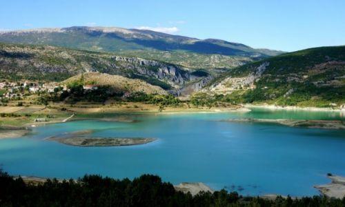 Zdjecie CHORWACJA / Dalmacja / Ričice / Green Lake...