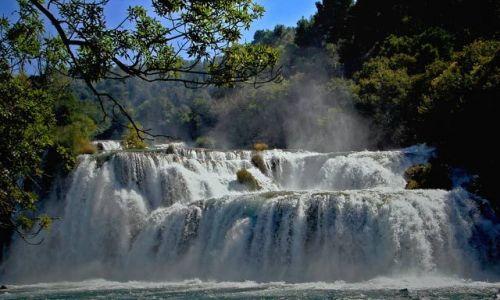 Zdjecie CHORWACJA / Park Narodowy Krka / Wodospad  Krka / ...