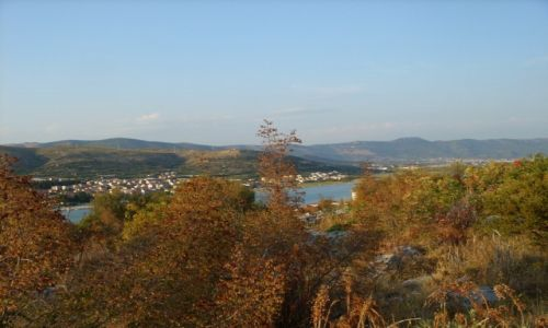 Zdjecie CHORWACJA / - / Trogir / Trogir  - panorama