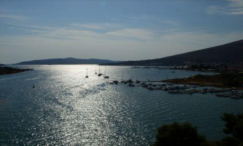 Zdjecie CHORWACJA / Dalmacja / Trogir / Trogir  - panorama 15.47 :)