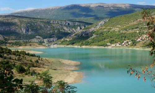Zdjecie CHORWACJA / Dalmacja / Ričice / Green Lake