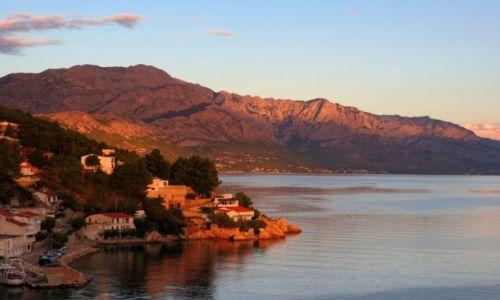 Zdjecie CHORWACJA / Dalmacja / Riviera Makarska / malownicza riwiera...