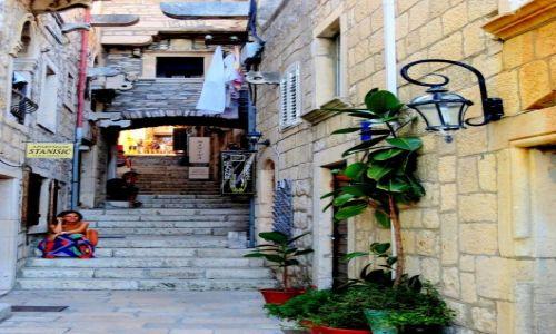 Zdjęcie CHORWACJA / południowa Dalmacja / Korčula na Korčuli / czekając na...