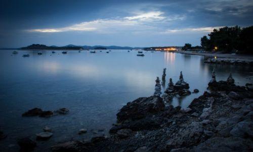 Zdjecie CHORWACJA / Split / Jedna z plaż koło Splitu / Konkurs