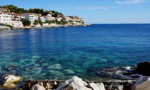 Zdjęcie CHORWACJA / Dalmacja południowa / Zavalatica / wybrzeże Korčuli...