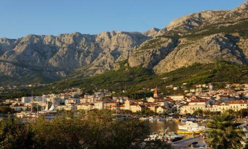 Zdjecie CHORWACJA / Dalmacja / Makarska / u podnóża góry Biokovo...