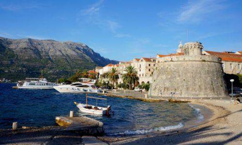 Zdjęcie CHORWACJA / Dalmacja południowa / Korčula / leniwe popołudnie...