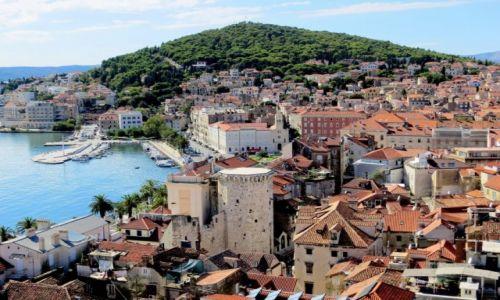 Zdjecie CHORWACJA / Dalmacja / Split / stary Split