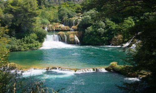 Zdjecie CHORWACJA / Dalmacja Środkowa / Park Narodowy Krka / Wodospady Krki