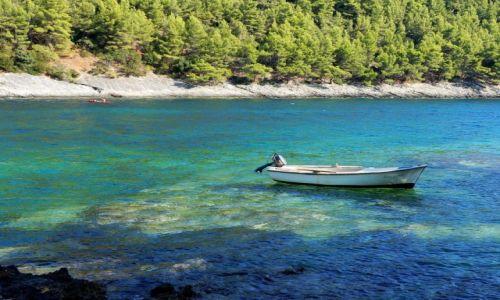Zdjecie CHORWACJA / południowa Dalmacja, Korčula / zatoka Pupnatska Luka / cisza i spokój, i trochę cienia...