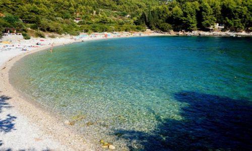 Zdjecie CHORWACJA / poludniowa Dalmacja, Korčula / zatoka Pupnatska Luka / w słońcu...