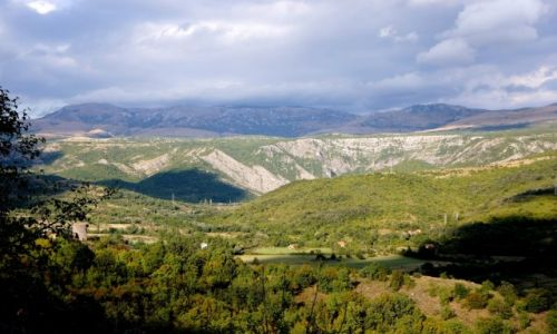 Zdjecie CHORWACJA / Dalmacja środkowa / między Kninem, a miejscowością Gračac / niezapomniane widoki...