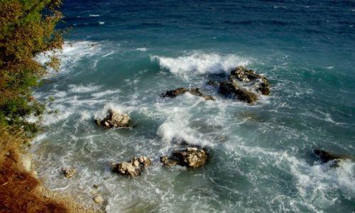 Zdjecie CHORWACJA / Dalmacja / Adriatyk (Riviera Makarska) / choć ciepły i kolorowy, też czasem się burzy...